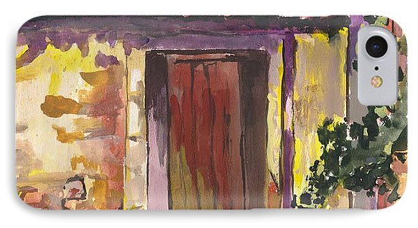 IPhone Case featuring the digital art Sunny Doorway by Darren Cannell