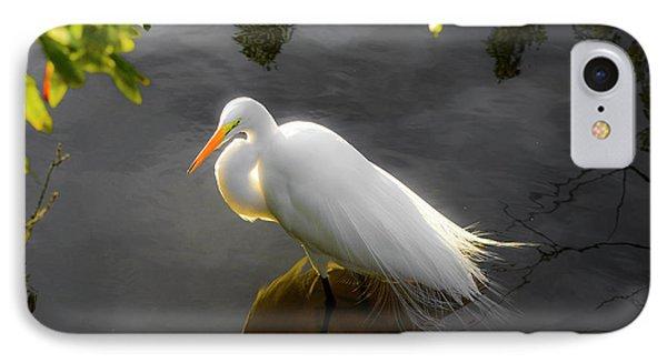 Sunny Egret IPhone Case