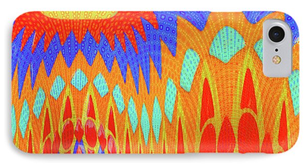 Sunny Garden IPhone Case by Ann Johndro-Collins