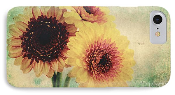 Sunny Gerbera IPhone Case by Angela Doelling AD DESIGN Photo and PhotoArt