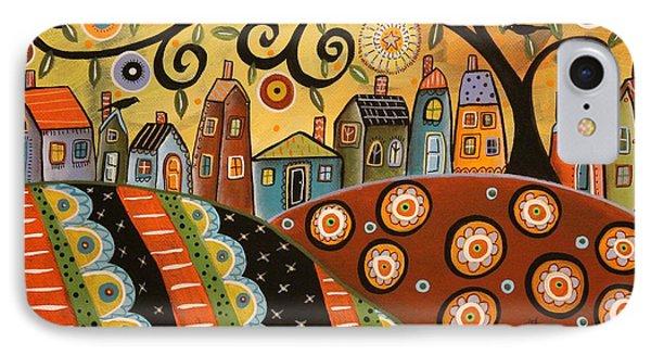 Sunny Landscape Phone Case by Karla Gerard