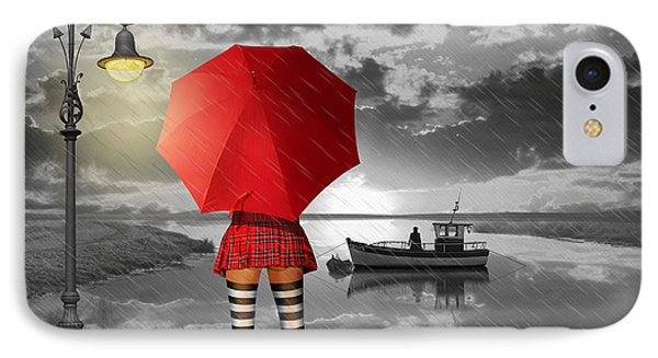 Sunny Outlook Phone Case by Monika Juengling