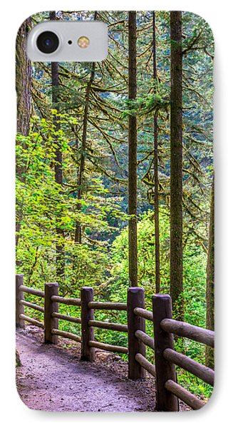 Sunny Path IPhone Case by Jerry Cahill