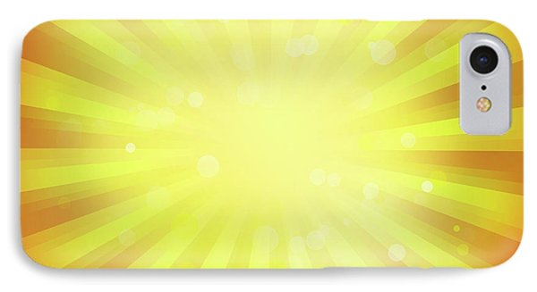 Sunny Rays IPhone Case by Les Cunliffe
