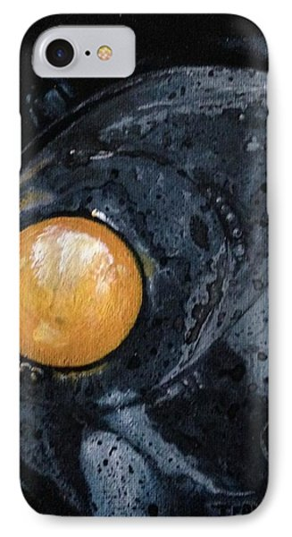 Sunny Side Up IPhone Case by T Fry-Green
