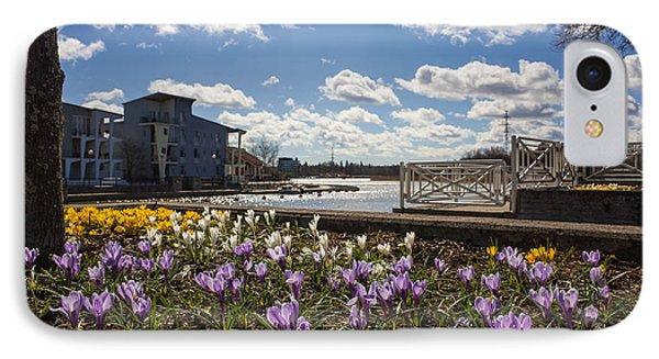 Sunny Spring Flowers In Helsinki IPhone Case