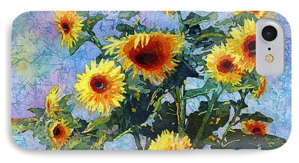 IPhone Case featuring the painting Sunny Sundance by Hailey E Herrera