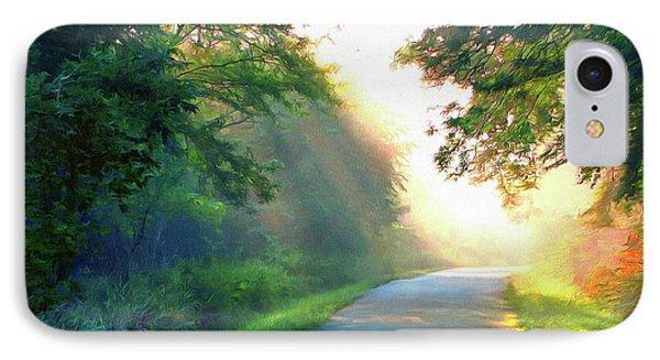 Sunny Trail IPhone Case by Cedric Hampton