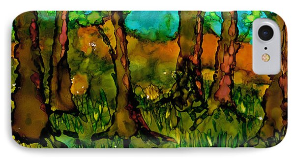 Sunny Trees IPhone Case
