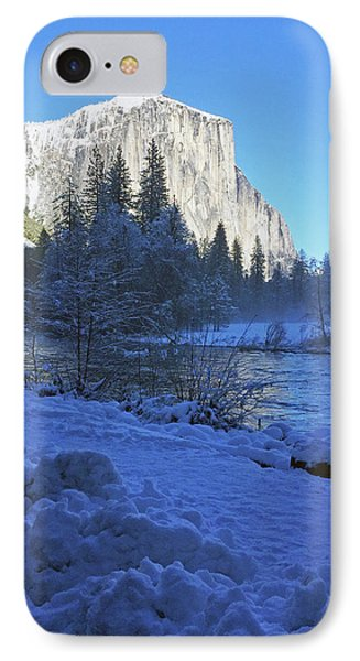 IPhone Case featuring the photograph Sunny Winter Day 01 13 17 by Walter Fahmy