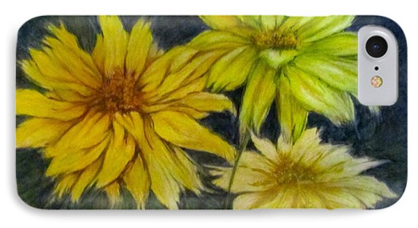 Sunny Yellow IPhone Case by Barbara O'Toole