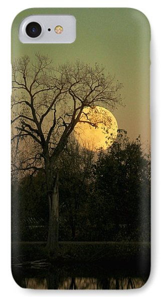 IPhone Case featuring the photograph November Supermoon  by Chris Berry