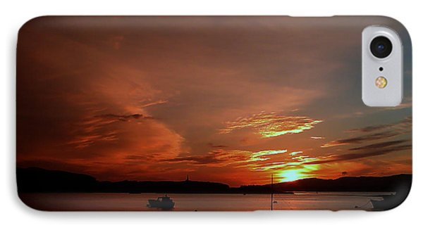 Sunraise Over Lake IPhone Case