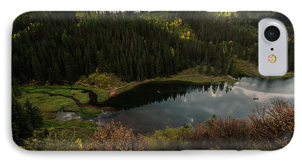Sunrays Over The Lake IPhone Case