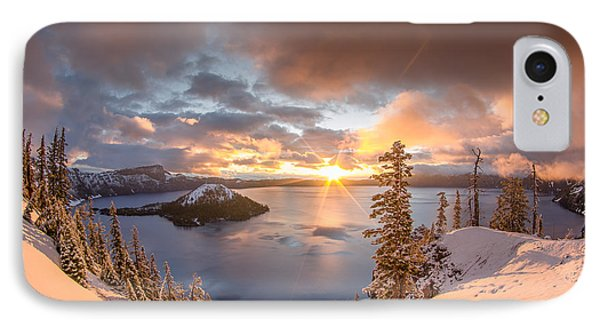 Sunrise After Summer Snowfall IPhone Case