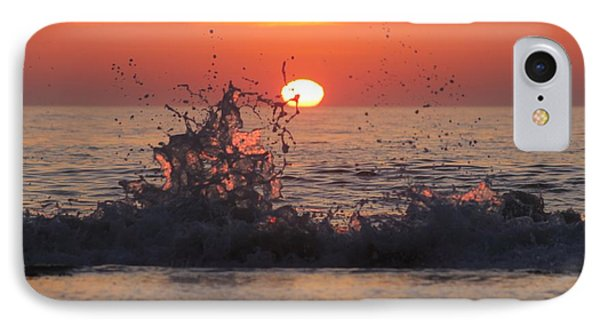 Sunrise And Splashes IPhone Case