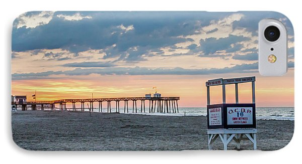 Sunrise At 16th Street Ocean City New Jersey IPhone Case
