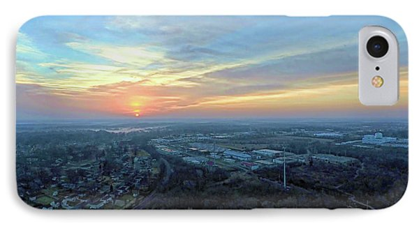 Sunrise At 400 Agl IPhone Case by Dave Luebbert