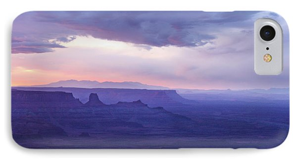 IPhone Case featuring the photograph Sunrise At Canyonlands by Marie Leslie