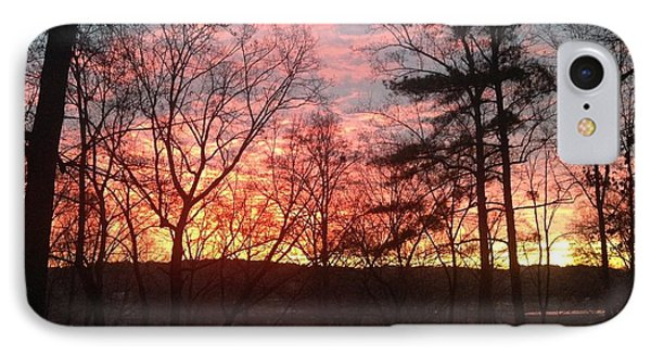 Sunrise At Carolina Trace IPhone Case
