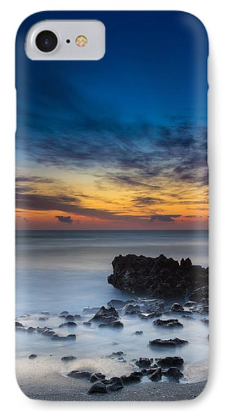 Sunrise At Coral Cove Park In Jupiter Vertical IPhone Case by Andres Leon