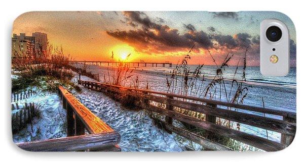 Sunrise At Cotton Bayou  IPhone Case by Michael Thomas