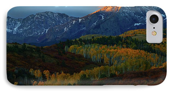IPhone Case featuring the photograph Sunrise At Dallas Divide During Autumn by Jetson Nguyen
