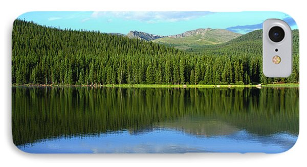 IPhone Case featuring the photograph Sunrise At Echo Lake by Marie Leslie