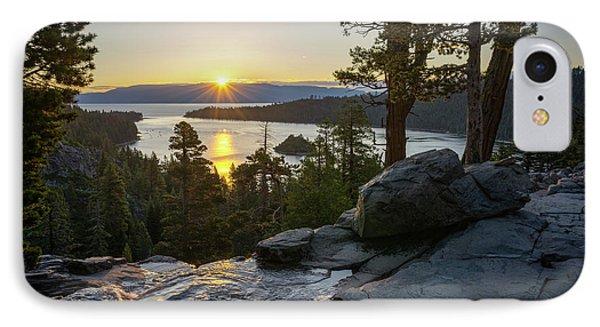 Sunrise At Emerald Bay In Lake Tahoe IPhone Case