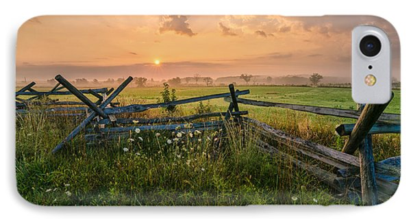 Sunrise At Gettysburg National Park IPhone Case
