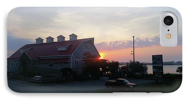 Sunrise At Hooper's Crab House IPhone Case