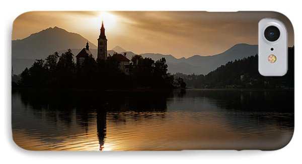 Sunrise At Lake Bled IPhone Case