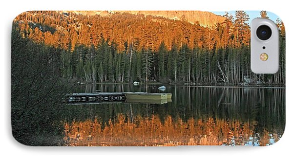 IPhone Case featuring the photograph Sunrise At Lake Mamie by Donna Kennedy