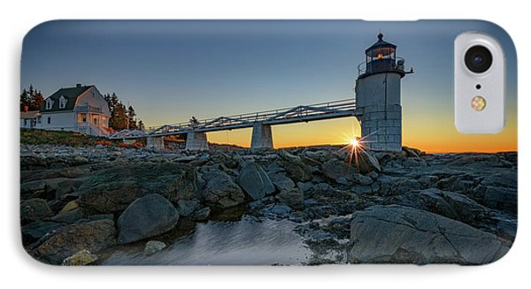 Sunrise At Marshall Point IPhone Case