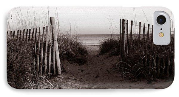 Sunrise At Myrtle Beach Sc IPhone Case by Susanne Van Hulst
