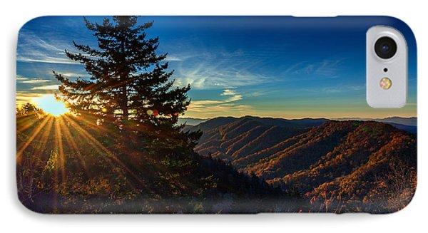 Sunrise At Newfound Gap IPhone Case by Rick Berk
