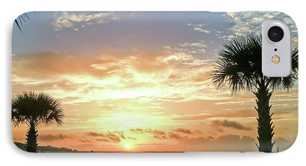 IPhone Case featuring the photograph Sunrise At Ocean Isle by Kerri Farley