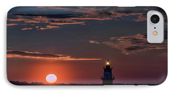 Sunrise At Orient Point IPhone Case by Rick Berk
