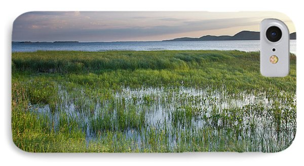 IPhone Case featuring the photograph Sunrise At Sandbar  by Susan Cole Kelly