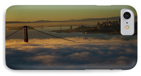IPhone Case featuring the photograph Sunrise At The Golden Gate by David Bearden