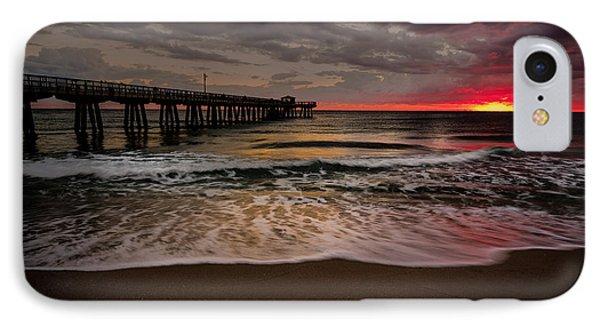 Sunrise At The Pier IPhone Case