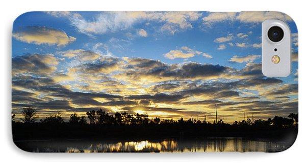 Sunrise At The Summit Phone Case by Melanie Moraga