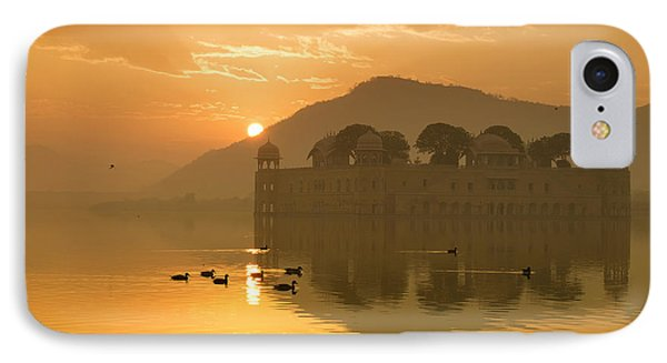 IPhone Case featuring the photograph Sunrise At Water Palace by Yew Kwang