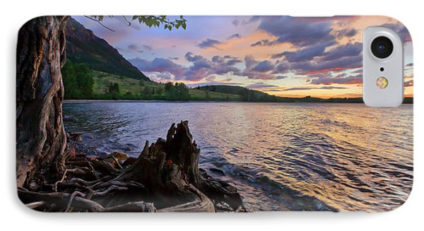 Sunrise At Waterton Lakes IPhone Case