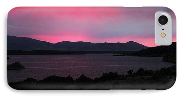 Sunrise At Yuba Lake Phone Case by Dan Pearce