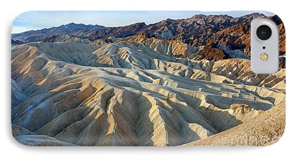 Sunrise At Zabriskie Point IPhone Case