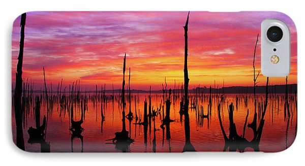 Sunrise Awaits IPhone Case by Roger Becker