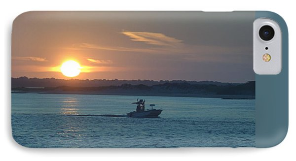 IPhone Case featuring the photograph Sunrise Bassing by  Newwwman