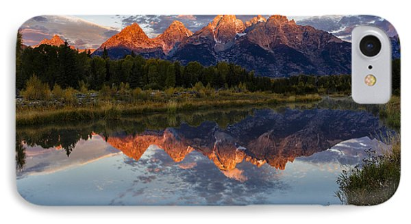 Sunrise Burning II IPhone Case by Mike Lang