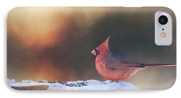 Sunrise Cardinal IPhone Case